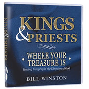 CD-KINGS AND PRIESTS WHERE YOUR TREASURE IS