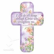 BOOKMARK-CROSS-I CAN DO ALL THINGS PHIL 4:13