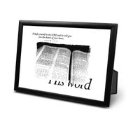 FRAMED PRINT- HIS WORD