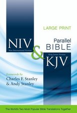 NIV/KJV SIDE BY SIDE(PARALLEL) BIBLE- HC-LP
