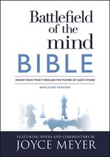 BATTLEFIELD OF THE MIND BIBLE AMPLIFIED-HC