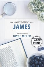 JAMES- BIBLICAL COMMENTARY (LARGE PRINT)