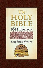 KJV-1611 EDITION-400TH ANIVERSARY-APOCRYPHA INCLUDED