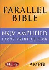 NKJV/AMP BIBLE-LARGE PRINT-HC