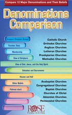 DENOMINATIONS COMPARISON (PAMPHLET)