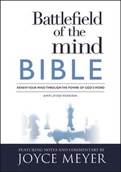 Amplified Battlefield of the Mind Bible-HC