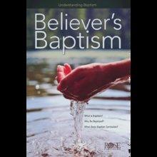 PAMPHLET: BELIEVER'S BAPTISM